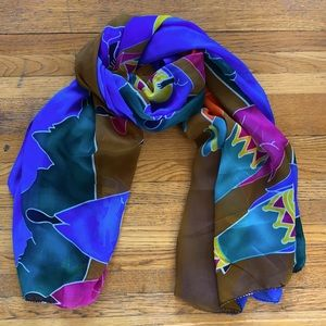 Large African Scarf/Wrap